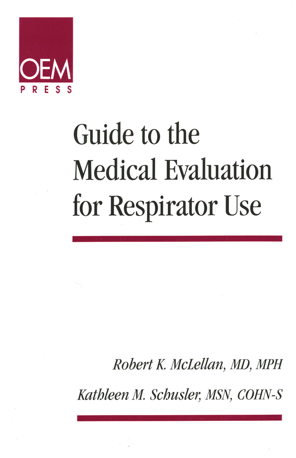Guide to the Medical Evaluation for Respirator Use cover image