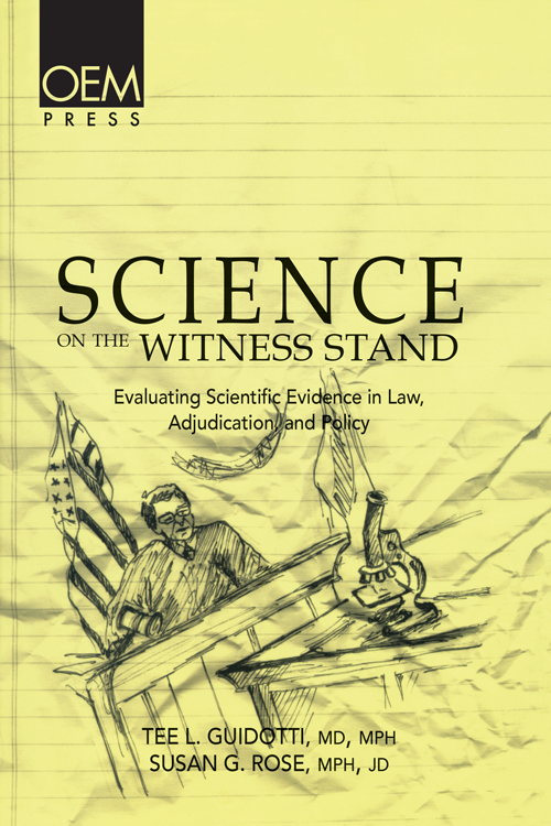 Science on the Witness Stand: Evaluating Scientific Evidence in Law, Adjudication and Policy cover image